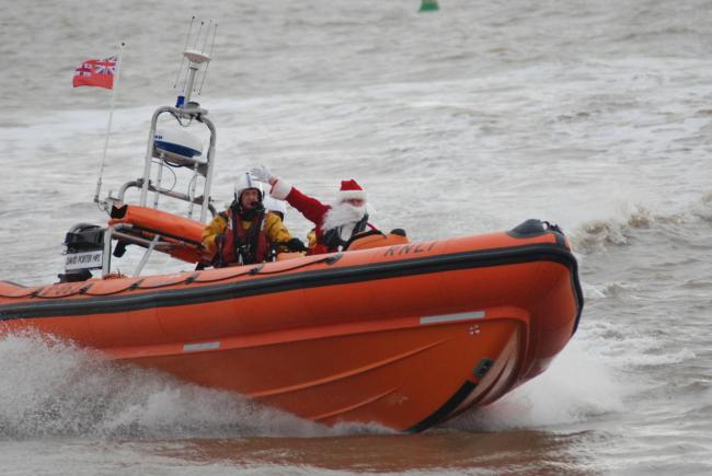 Father Christmas to sail into Clacton this weekend