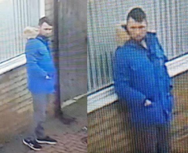 CCTV - police want to speak to this man