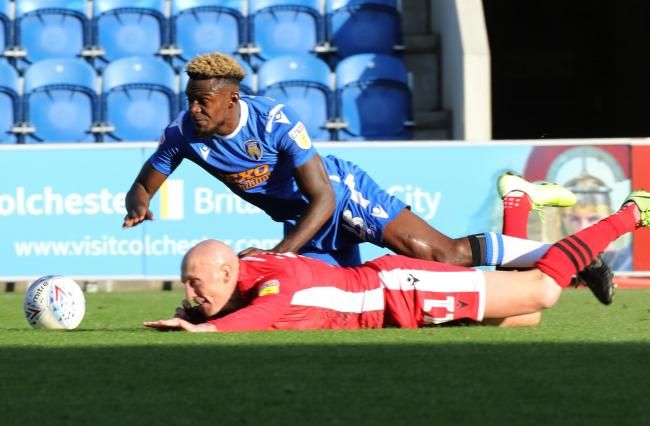 Pursuit - Colchester United are hoping to lure Theo Robinson back to the club on loan Picture: STEVE BRADING