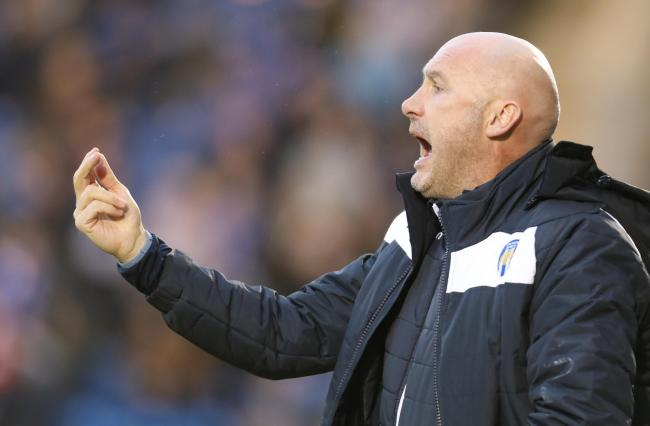 Reward - Colchester United head coach John McGreal  Picture: STEVE BRADING