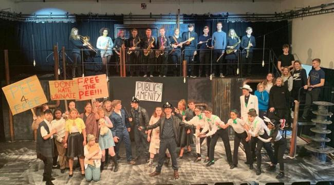 Colchester Sixth Form College Cast and Band of Urinetown