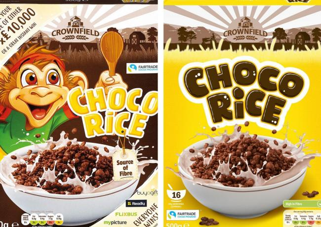Lidl's new branding for its Coco Rice