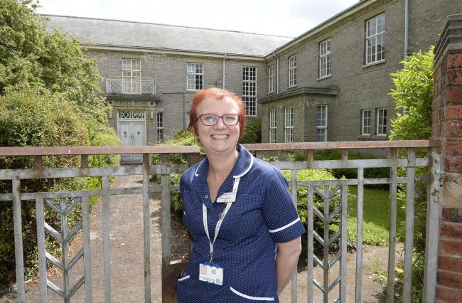 Time to move on - Donna Booton at Colchester's now closed Essex County Hospital