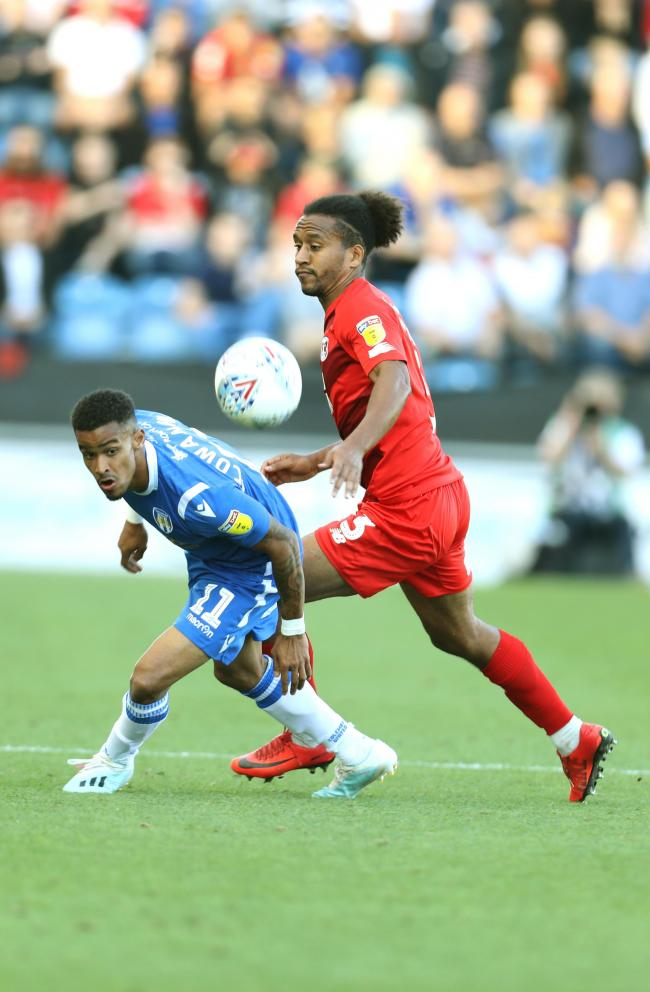 Sidelined - Colchester United attacker Paris Cowan-Hall Picture: STEVE BRADING