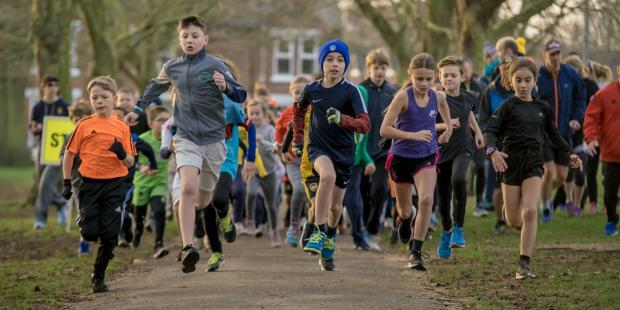 Gazette: Youngsters set off at Colchester Junior Parkrun