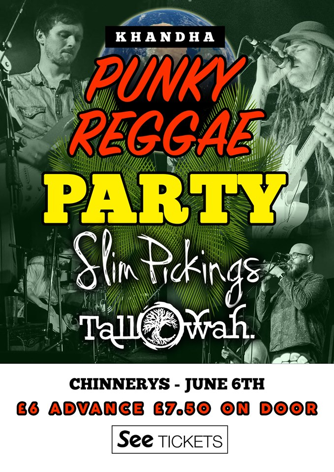Khandha Punky Reggae Party - Slim Pickings / Tallowah
