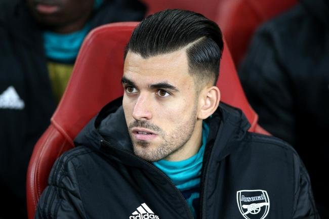 Dani Ceballos has been an unused substitute in Arsenal's last two games