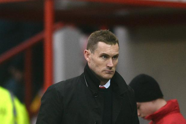 Watching brief - Exeter City manager Matt Taylor during their game with Colchester United Picture: RICHARD BLAXALL