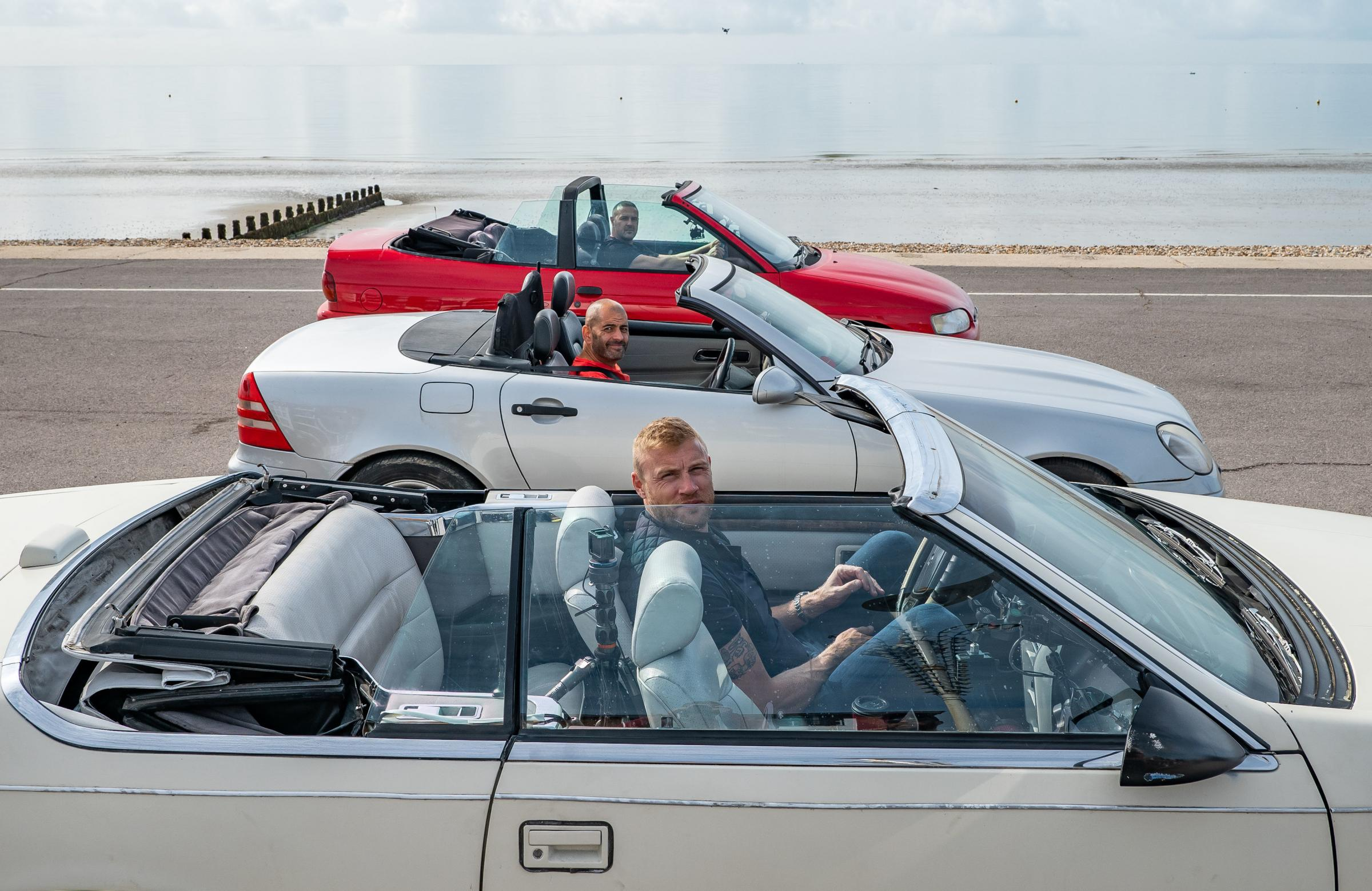 Top Gear presenters face the challenge of the Essex causeway
