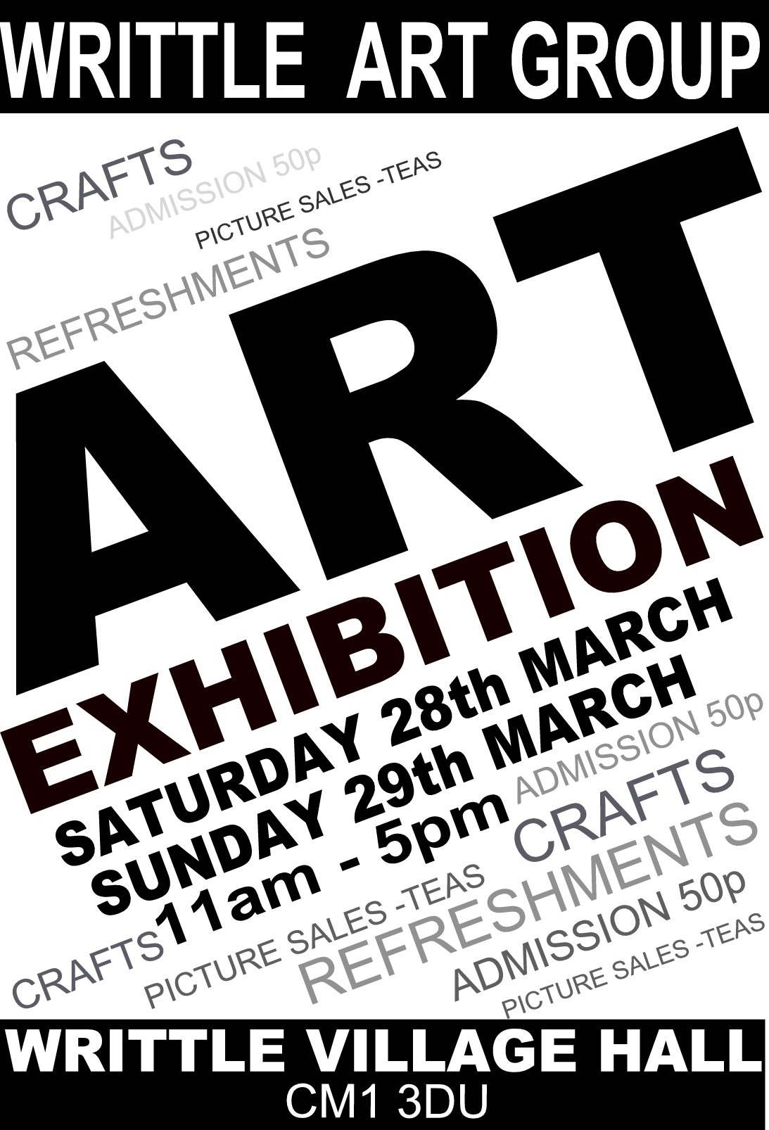 Writtle Group Art Exhibition