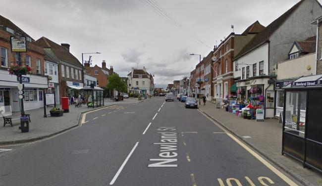 The attack happened in Newland Street, Witham