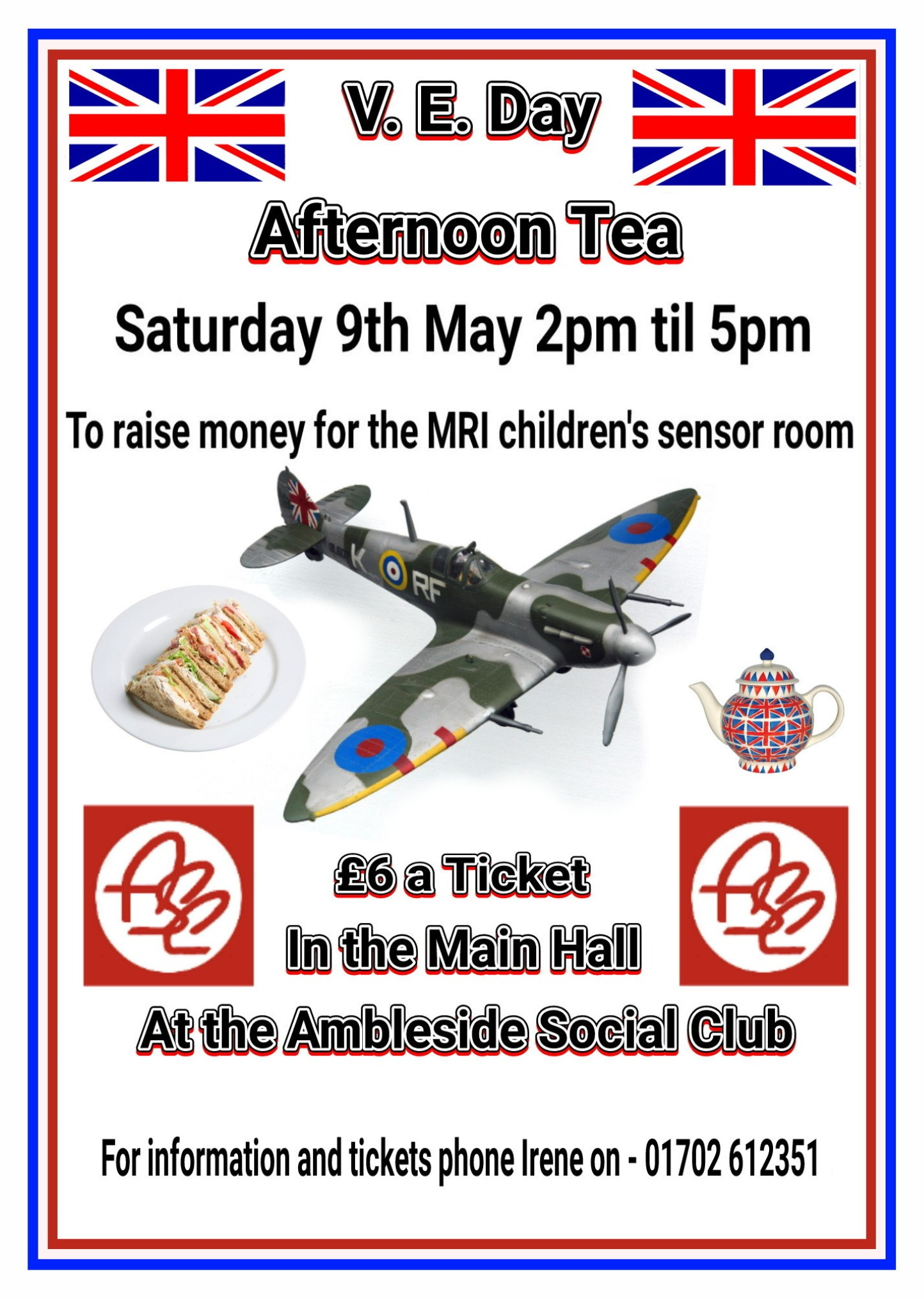 VE DAY afternoon tea & cabaret