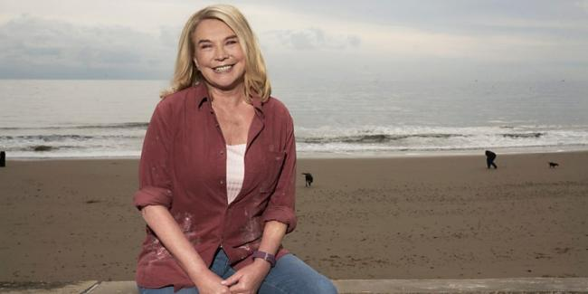 Star - actress Amanda Redman plays Frinton resident, Anita Picture: BBC