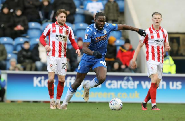 On the move - Frank Nouble has joined Plymouth Argyle after being released by Colchester United Picture: STEVE BRADING