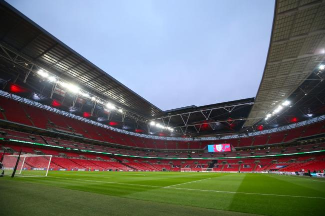 Stage set - the National League play-off final will take place at Wembley Stadium next month Picture: STEVEN PASTON/PA WIRE