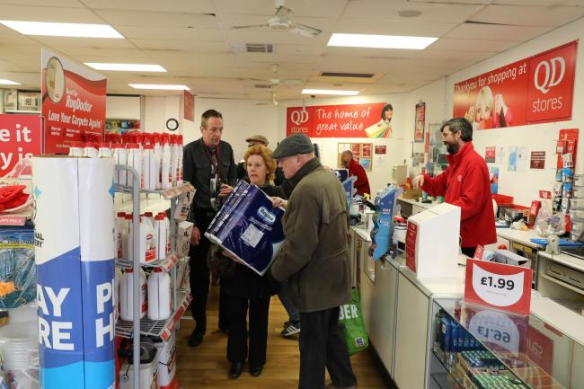 Older shoppers allowed into QD