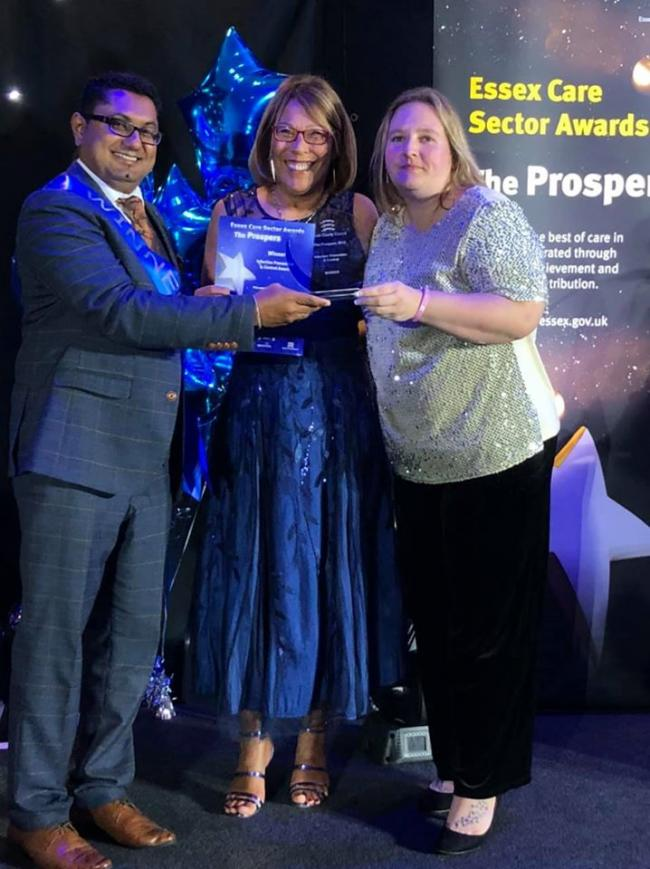 Care home celebrated at annual awards bash