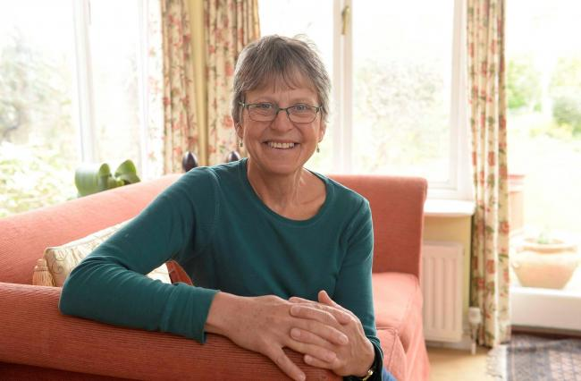 Returning - retired GP Dr Laurel Spooner is returning to help the NHS in the face of the coronavirus outbreak