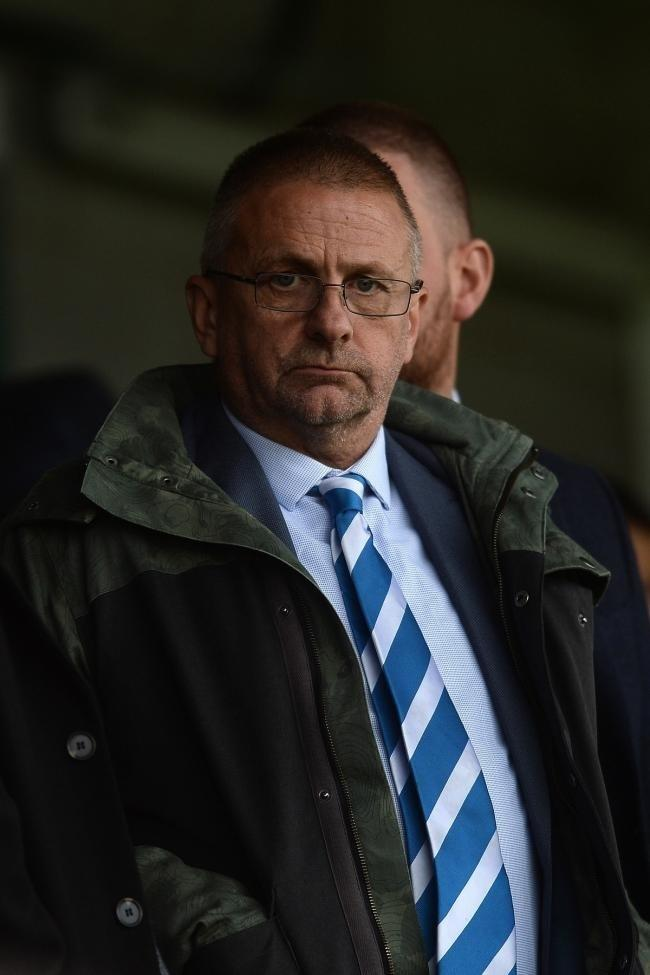 Message - Colchester United chairman Robbie Cowling Picture: RICHARD BLAXALL