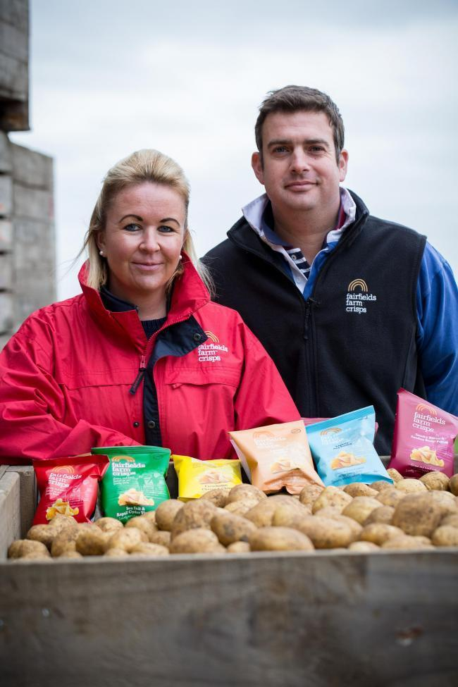 Community - Laura and Robert Strathern of Fairfield Farm have launched a delivery services to help residents