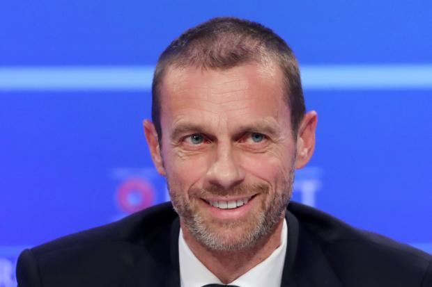 UEFA president Aleksander Ceferin is having to deal with the coronavirus fallout