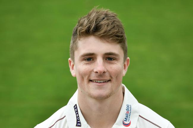 Somerset captain Tom Abell.