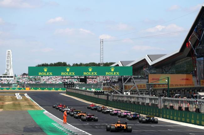The British Grand Prix is in doubt (David Davies/PA)