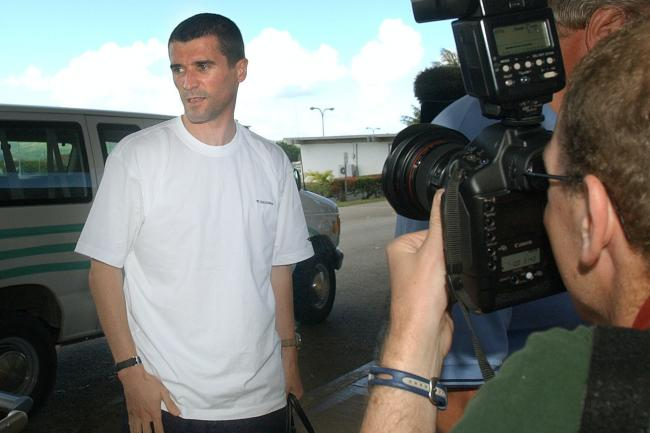 Roy Keane leaving Saipan after being sent home