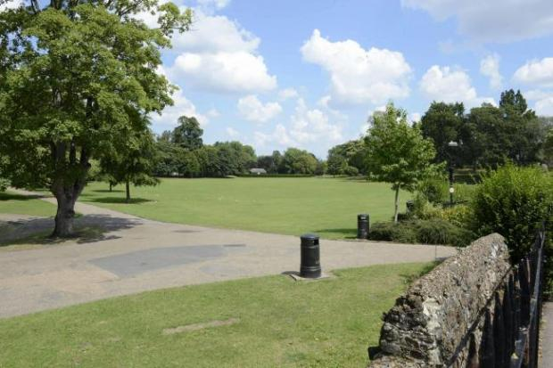 Gazette: Location - the event will be held in Castle Park
