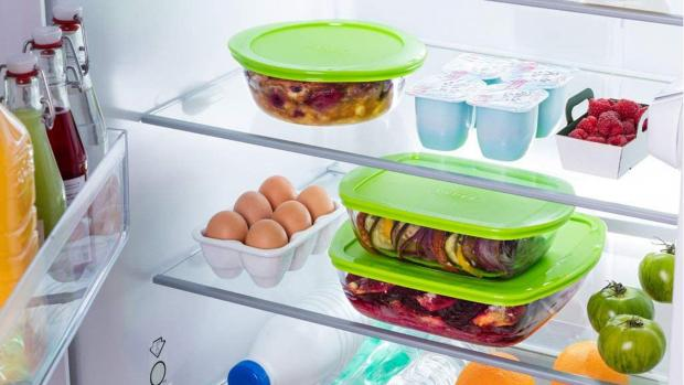 Gazette: Pyrex glass containers are perfect for food storage. Credit: Pyrex