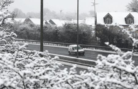 The A12 at Colchester