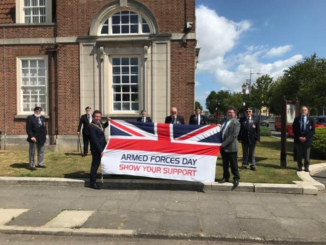 Council raises flag in support of Armed Forces Day