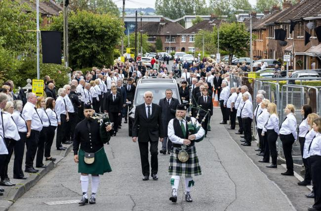 Bobby Storey funeral