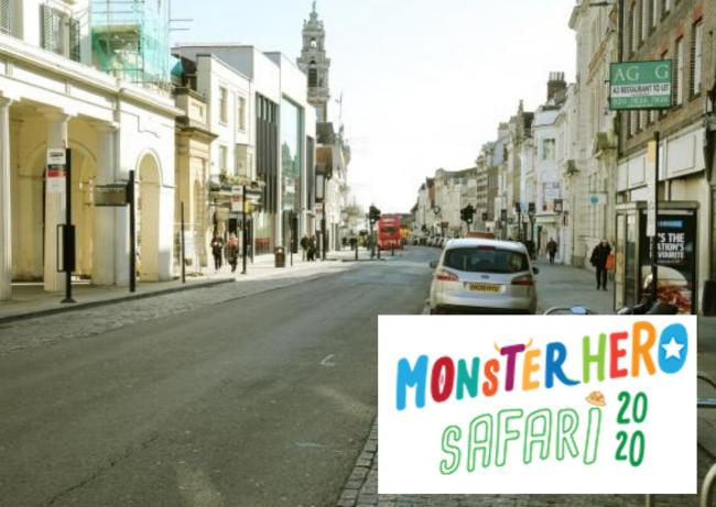 High Street safari story trail to launch this weekend to support town and NHS