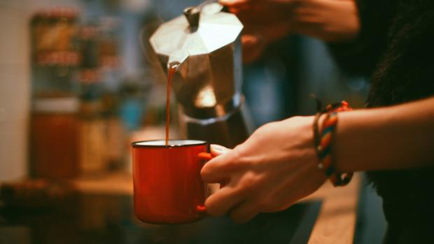 Gazette: Brewing coffee in a moka pot is budget-friendly and easy. Credit: Getty Images / Chatnoir