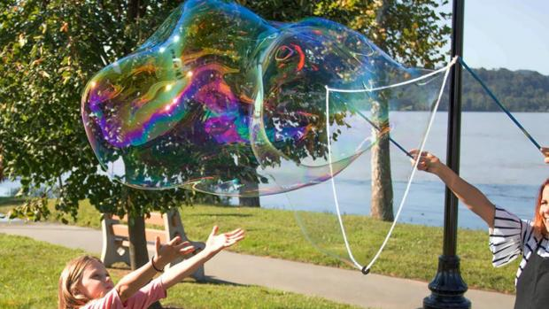 Gazette: What's not to love about bubbles? Credit: Etsy / BubblePalooza