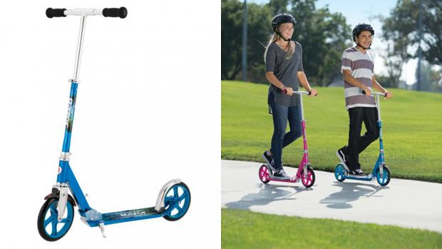 Gazette: Get scootin' around your neighbourhood with this deluxe Razor. Credit: Razor