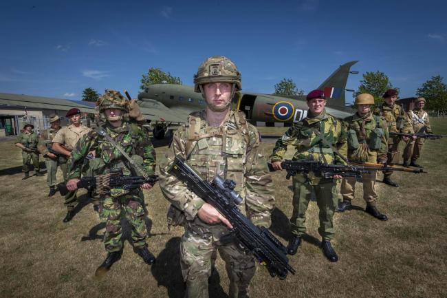 Anniversary - 16 Air Assault Brigade mark 80 years of airborne forces  PICTURE: Cpl Danny Houghton