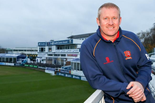 New Essex CCC head coach Anthony McGrath during a Media Event at The Cloudfm County Ground on 20th November 2017.