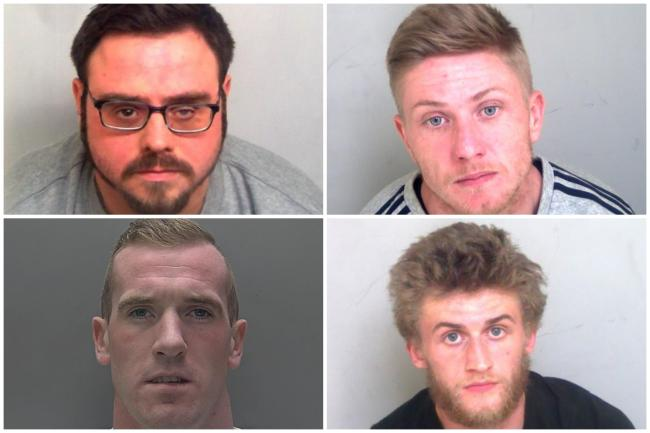 The four men locked up for committing crimes in Braintree district
