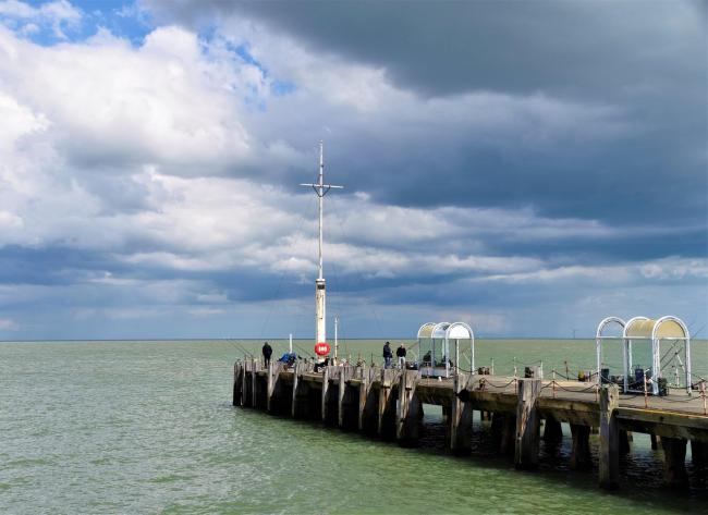 READER PICTURE: Cloudy skies over Clacton