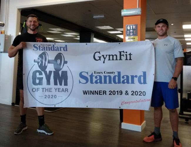 GymFit, in Holland Road, Clacton, has won the accolade
