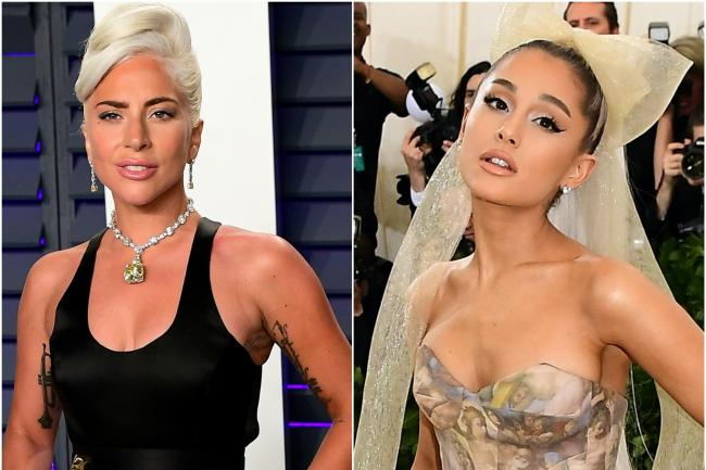 Lady Gaga and Ariana Grande