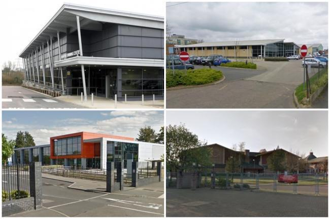 The district's leisure centres are starting a phased re-opening