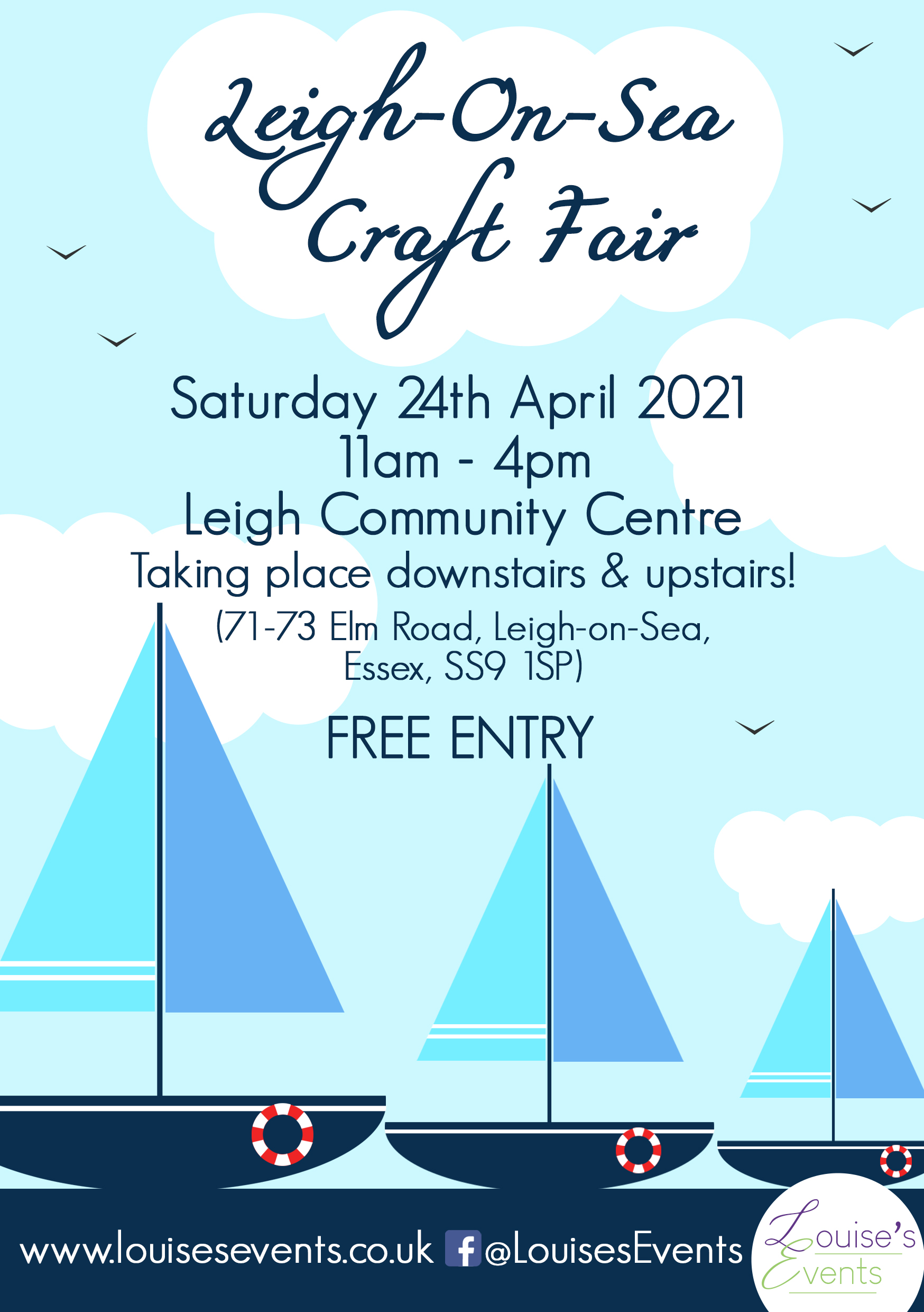 Leigh-on-Sea Craft Fair by Louise's Events