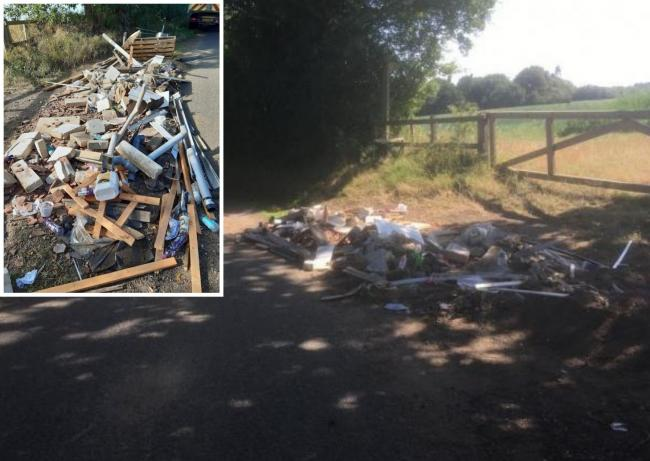 Repeat offender - more waste was dumped within 24 hours after council workers had cleared it