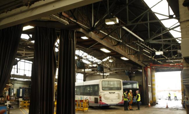 'Revamped bus depot could be used to bring a little modern history to our town'