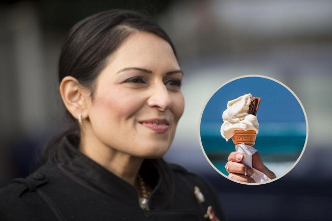Popular ice cream brand slams Priti Patel on Twitter over immigration policies