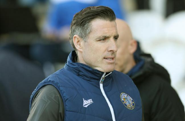 Disappointment - Macclesfield Town boss Mark Kennedy Picture: STEVE BRADING