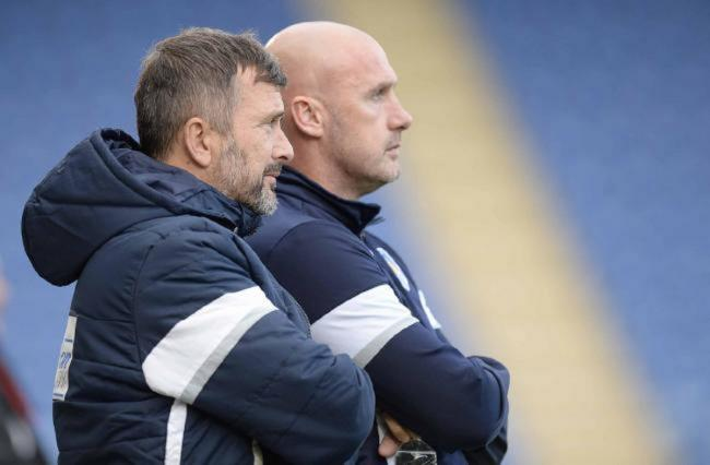 Teaming up - Colchester United head coach Steve Ball (pictured with John McGreal) worked as number two for four years Picture: STEVE BRADING